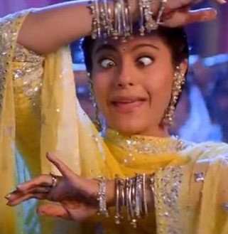 Kajol's bangles in the movie 'Kabhi Khushi Kabhi Gham' most prominently seen in the song 'Yeh ladka hai Allah' - SeenIt