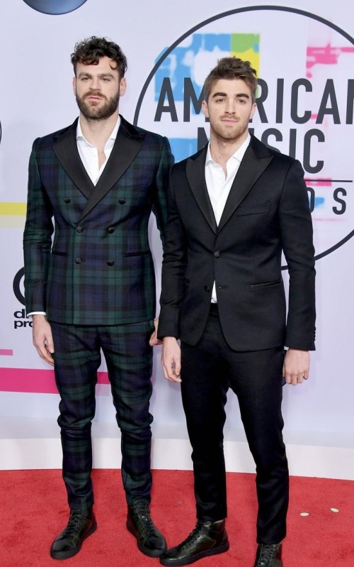 Yay or Nay? Chainsmokers attend the 2017 American music awards - SeenIt
