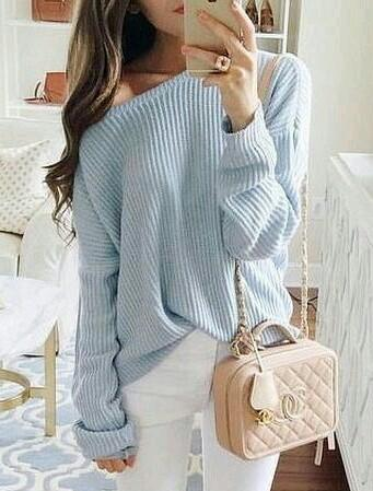 same light blue one-shoulder top as in the pic - SeenIt