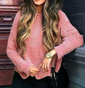 same pink woolen top as in the pic - SeenIt