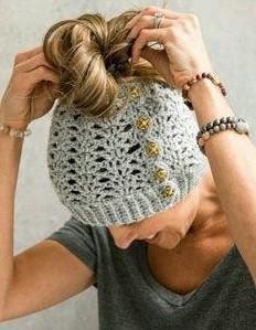 same grey woollen cap - SeenIt