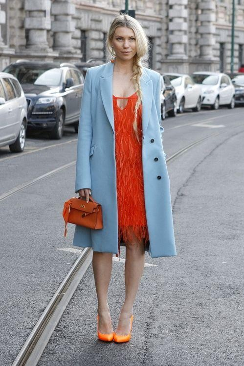 Want the blue trench coat - SeenIt
