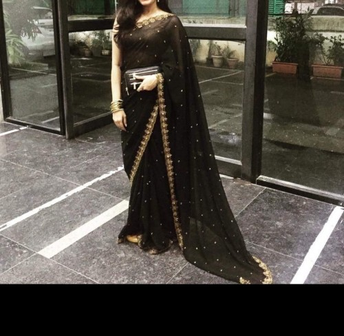 Looking for similar saree and bangles - SeenIt