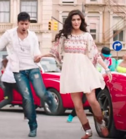 e91116d0b1 I m looking for same boho dress with same pair of shoes which Kriti Sanon
