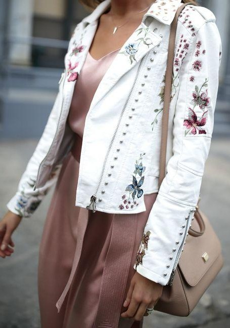 This white embroidered jacket - SeenIt