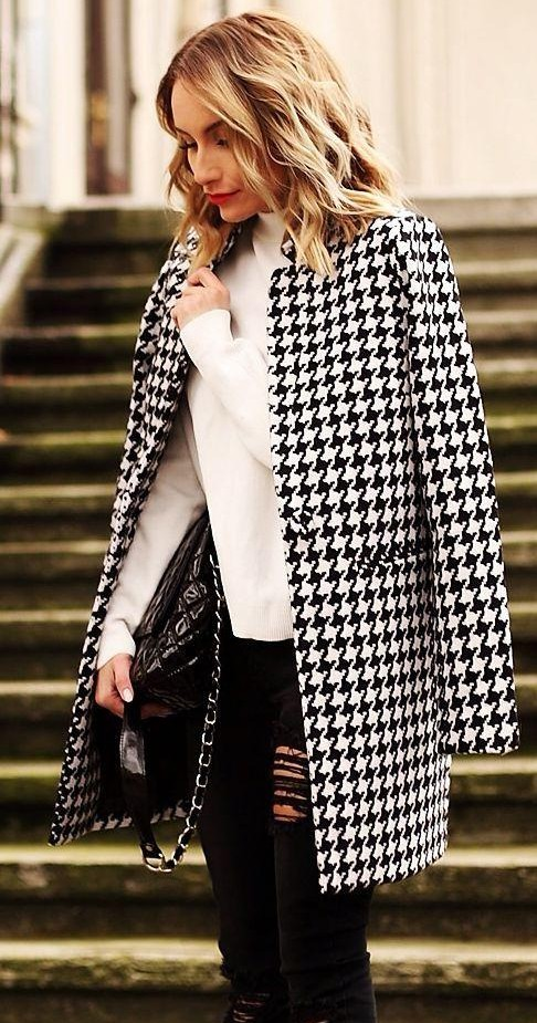similar houndstooth jacket - SeenIt
