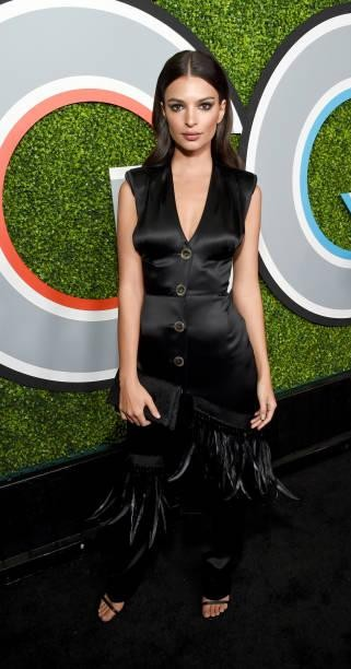 Yay or Nay?  Emily Ratajkowski attends the 2017 GQ Men of the Year party at Chateau Marmont - SeenIt