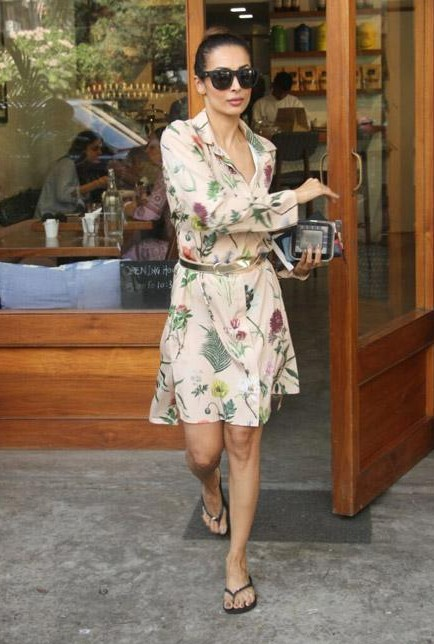 Malaika Arora Khan in a floral dress - SeenIt