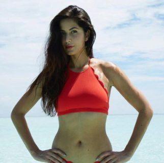 Katrina Kaif in a red bikini - SeenIt