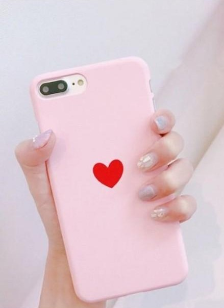 similar pink silicon cover for iPhone 6s - SeenIt