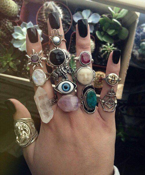 Want these boho rings - SeenIt