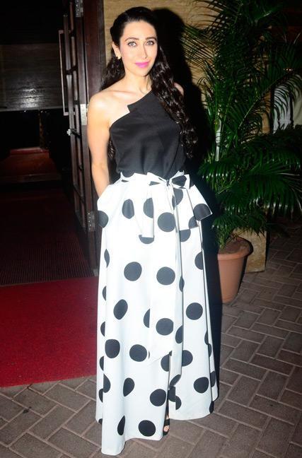 Yay or Nay? Karishma Kapoor in Sachin&Babi at Malaika Arora Khan's christmas party in Mumbai - SeenIt