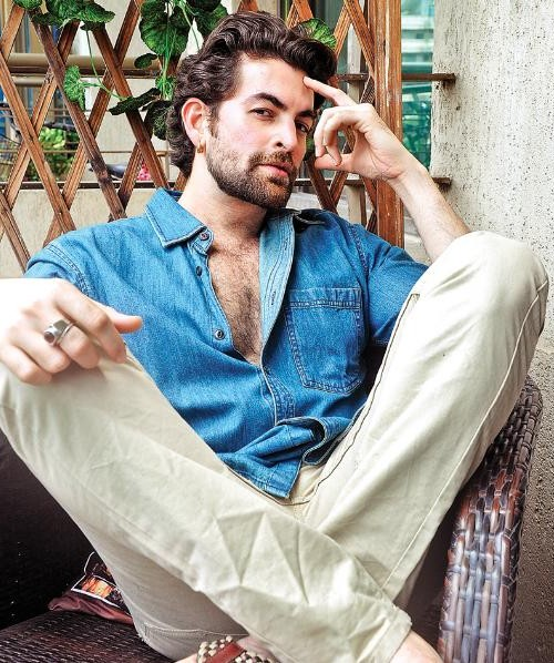 This denim shirt and beige pants that Neil Nitin Mukesh is wearing - SeenIt