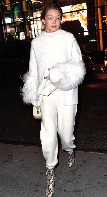 Yay or Nay? Gigi Hadid in Sally LaPointe in New York - SeenIt