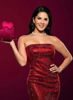 9114781894 red satin sequinned tube dress - SeenIt