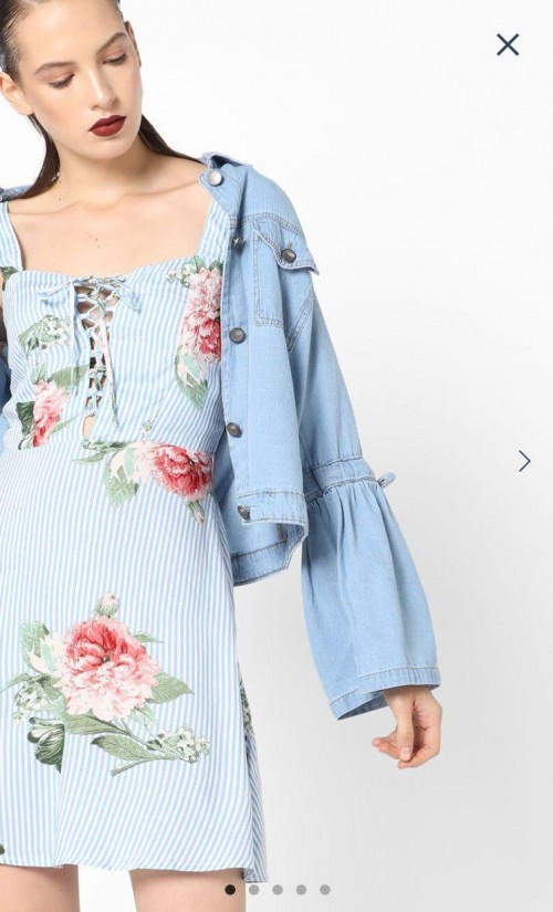 Im looking for tops in this print and fabric - SeenIt