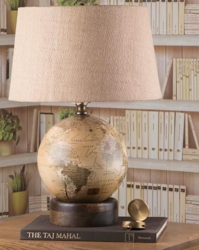 Looking for similar globe table lamp - SeenIt