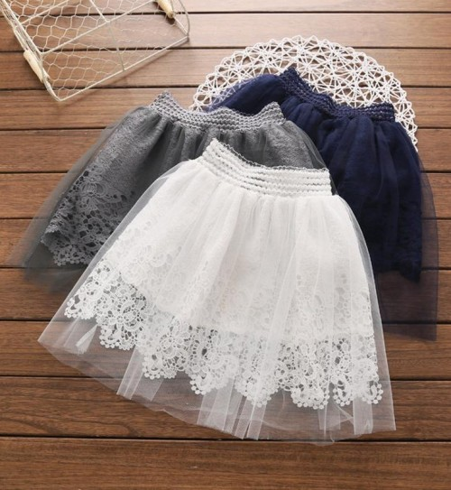 Similar white lace skirt - SeenIt