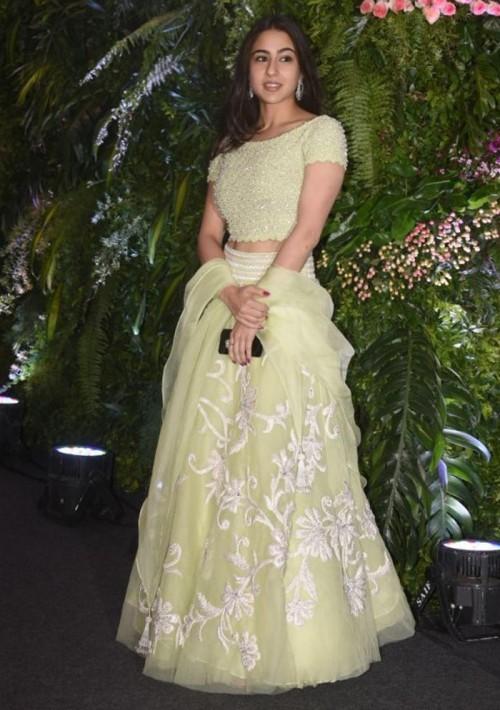 Sara Ali Khan lehenga - SeenIt