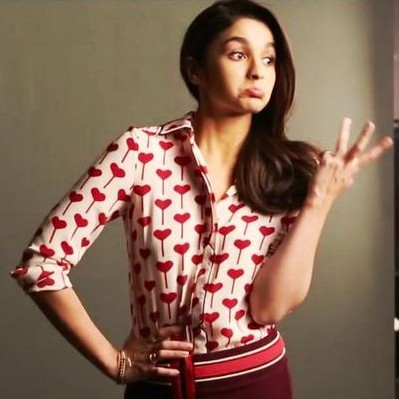 Love, love, LOVE Alia's heart-print shirt in the upcoming Kapoor & Sons! Any color will do!! - SeenIt