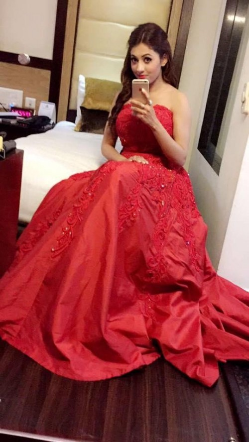 c69bcf3feb Similar red tube embroidered gown - SeenIt