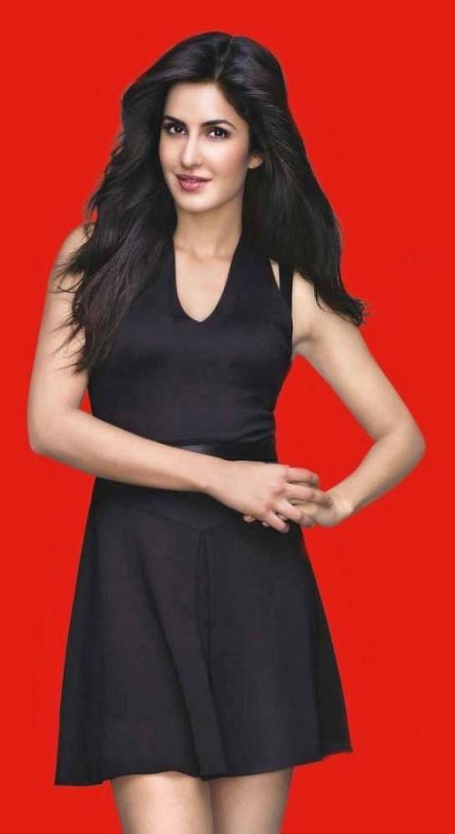 Katrina Kaif in a black skater dress - SeenIt 301121f16
