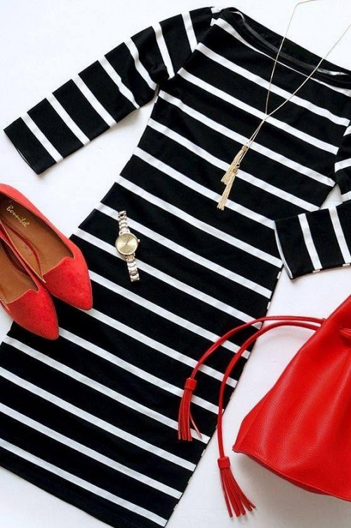 Looking for a similar striped dress - SeenIt