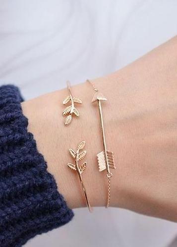 Similar leaves bracelet - SeenIt