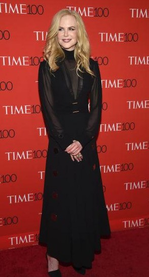 Yay or Nay? Nicole Kidman walks the red carpet of Time100 Gala 2018 in this black dress - SeenIt