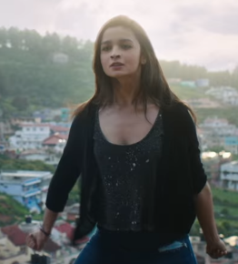 Get me a similar top and shrug from Alia Bhatt's upcoming movie ! - SeenIt