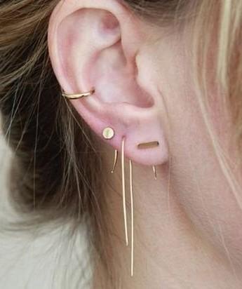 I'm looking for similar ear piercing - SeenIt