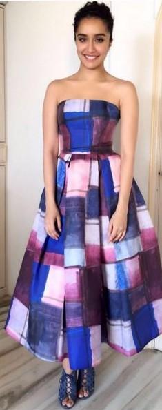 214960f79f want a similar tube printed multi colored shradha s flared maxi dress -  SeenIt