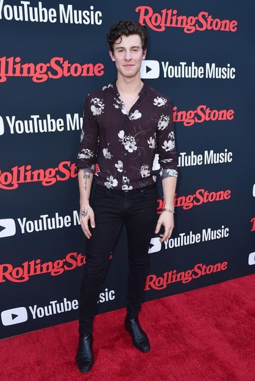 Shawn Mendes Black skinny jeans - SeenIt