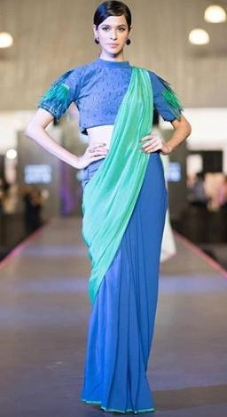 I am looking for a similar saree like this. Where will i get this? - SeenIt