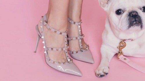 I'm looking for similar Valentino studs heels. - SeenIt