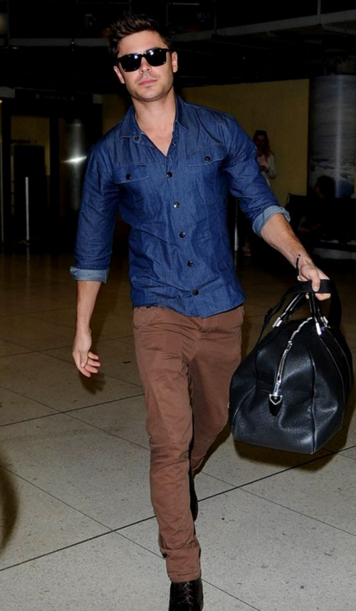I want to buy the exact same pants Zac is wearing. Can someone please help me buy them? - SeenIt
