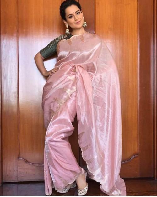 Shop colours, kanganaranaut, manikarnika, material, outfit, saree ...
