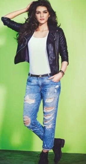 Shop Casual Kritisanon Jacket Jeans Outfit Shoes Top On Seenit