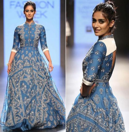 Ileana looked charming in the embellished Rahul Mishra outfit. Yay or Nay? - SeenIt