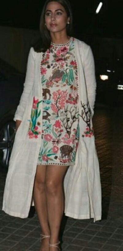 same look as hina khan is wearing - SeenIt a49922889