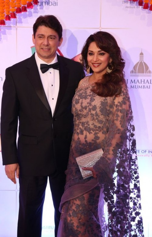 Madhuri Dixit at the Royal Gala Dinner. Yay or Nay? - SeenIt