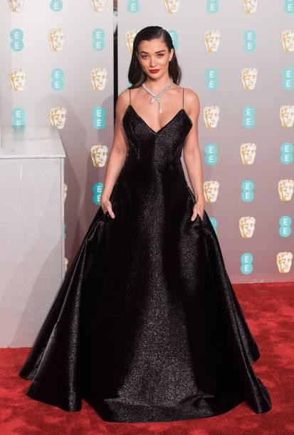 Yay or Nay? Amy Jackson attends the EE British Academy Film Awards at Royal Albert Hall - SeenIt
