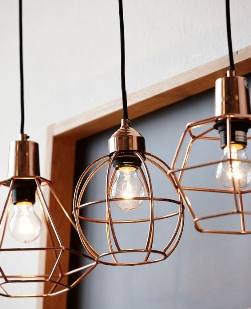 Looking for this metal wire hanging lamp! - SeenIt