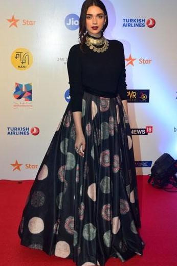 Similar skirt and choker like Aditi Rao Hydari - SeenIt