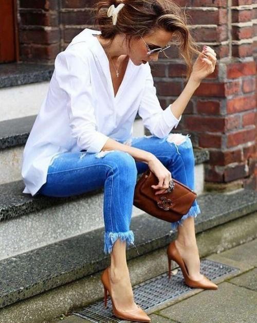Same color jeans - SeenIt