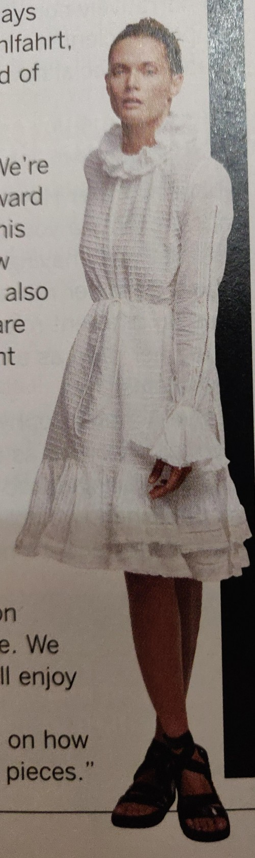 I am looking for this white dress. - SeenIt