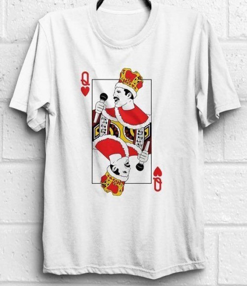 Looking for a freddie mercury queen of hearts tee like this from a domestic website - SeenIt