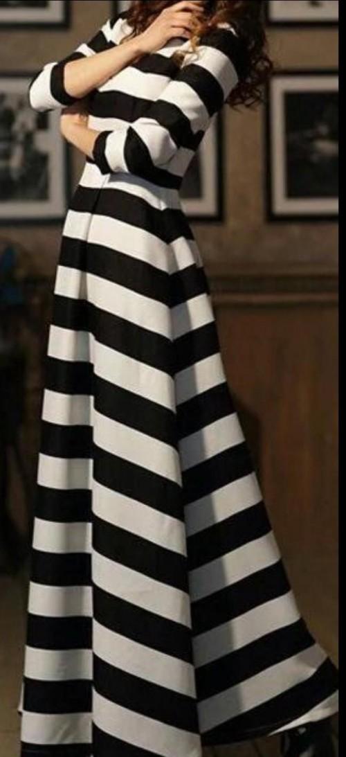 Want this striped maxi dress - SeenIt