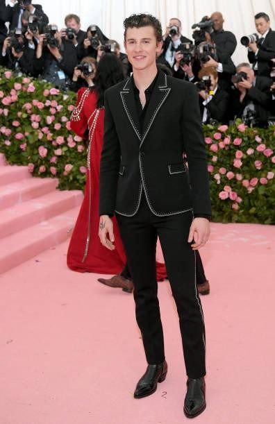 Yay or nay? Shawn Mendes attends The 2019 Met Gala Celebrating Camp: Notes on Fashion at Metropolitan Museum of Art - SeenIt