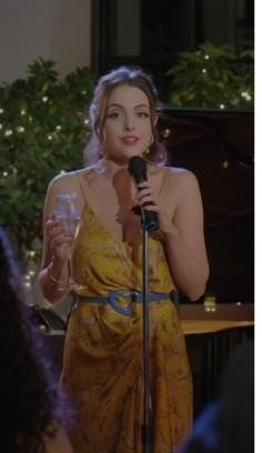 Want a similar floral scrappy dress like Fallon is wearing - SeenIt